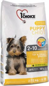 2,72 kg 1st Choice Puppy Toy & Small