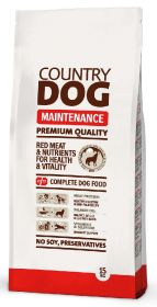 Country Dog Premium Maintenance, 15 kg