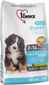 15 kg 1st Choice Puppy Medium & Large