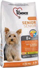 2,72 kg 1st Choice Senior Toy & Small