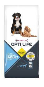 12,5 kg Opti Life Adult Light Medium & Maxi