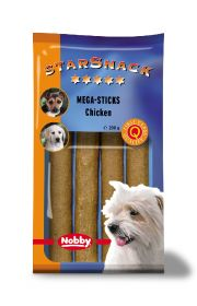 StarSnack Mega-Sticks Chicken -tangot, 200 g