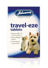 Johnson's Travel-Eze -matkapahoinvoititabletit (24 tabl.)