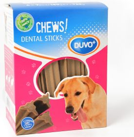 Duvo+ Soft Chews! Dental Sticks -hammashoitoherkut, 12 cm x 28 kpl