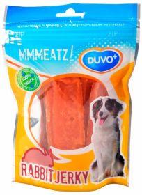 Duvo+ Mmmeatz! Rabbit Jerky -jäniksenlihasuikaleet, 100 g