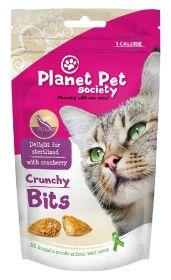 Planet Pet Crunchy Bits, Delight For Sterilized - Rapea makupala kissalle, 40 g