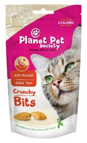 Planet Pet Crunchy Bits, Anti-Hairball - Rapea makupala kissalle, 40 g