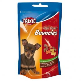 Trixie Soft Snack Bouncies siipikarja, lammas, maha 75 g