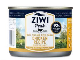ZiwiPeak kissa Uuden-Seelannin kana 185g - 6 kpl