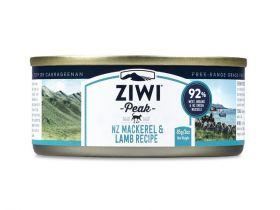 ZiwiPeak kissa Uuden-Seelannin makrilli & lammas 85 g - 6 kpl