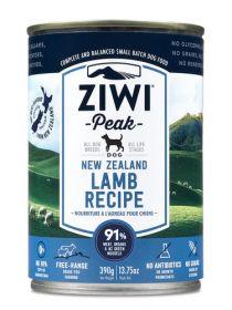 ZiwiPeak Uuden-Seelannin lammas 390 g - 6 purkkia