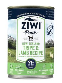 ZiwiPeak Uuden-Seelannin lampaan maha 390 g - 6 purkkia