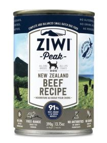 ZiwiPeak Uuden-Seelannin nauta 390 g - 6 purkkia