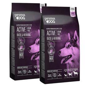 PrimaDog Active Ankka-Silli VILJATON 2 x 10 kg