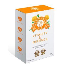 BerryOMG Vitality & Defence, senioreille, 90 kapselia