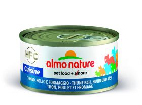 Almo Nature HFC Cuisine Tonnikala, kana & juusto, 70g