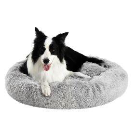 Brava Fluffy rauhoittava pörröpeti koiralle, harmaa