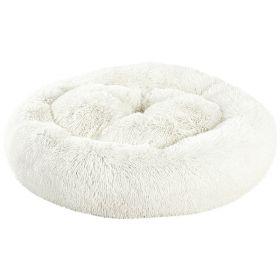 Brava Fluffy Rauhoittava pörröpeti, valkoinen