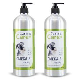 CanineCare Omega-3 -kalaöljy 2 x 950 ml