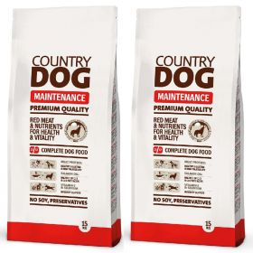Country Dog Premium Maintenance 2 x 15 kg