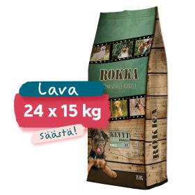 LAVA 24 x Kevyt Rokka, 15 kg
