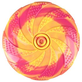 Flamingo Koiranlelu Zaza TPR-kumifrisbee, S 18 cm