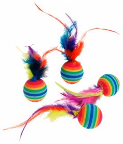 Karlie Rainbow-kissanlelu, 4 kpl