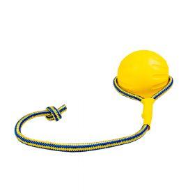 Duvo+ Koiranlelu Supa Foam -pallo köydellä, 10cm