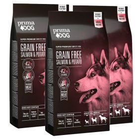 PrimaDog Adult All Breeds VILJATON Lohi-peruna 2 x 10 kg