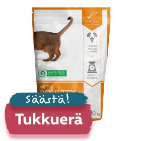 TUKKUERÄ Nature's Protection Cat Adult Sterilised, säilykepss 22 x 100 g