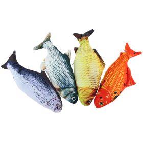 Boogie Motokatti sätkivä kala kissanlelu