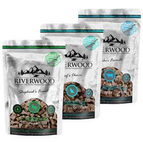 Riverwood Puolikosteat viljattomat makupalat, 200 g