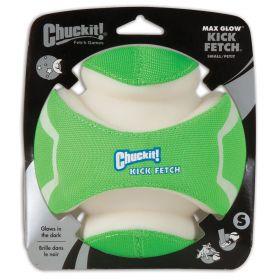 Pimeässä hohtava koiran pallo Chuckit Kick Fetch Max Glow, S 14 cm