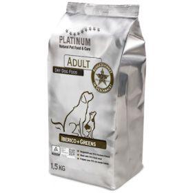 Platinum Adult Iberico + Greens, 1,5 kg