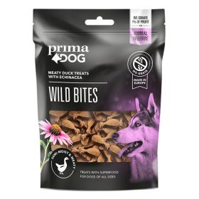 PrimaDog Wild Bites Ankka ja auringonhattu, pehmeä 150 g