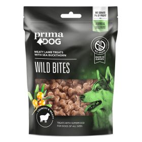 PrimaDog Wild Bites Lammas ja tyrni, rapea, 100 g