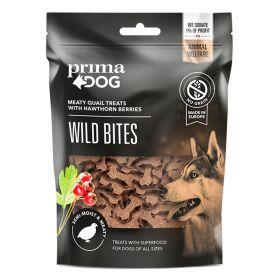 PrimaDog Wild Bites Viiriäinen ja orapihlaja, pehmeä 150 g