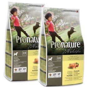 Pronature Holistic Puppy Kana & bataatti 2 x 13,6 kg