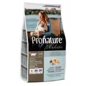 Pronature Holistic Atlantin lohi & tumma riisi, KISSALLE, 2,72 kg