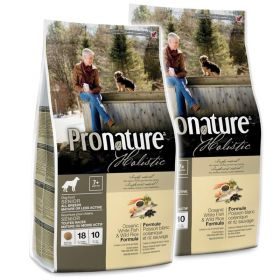 Pronature Holistic Senior Merisiika & villiriisi 2 x 13,6 kg