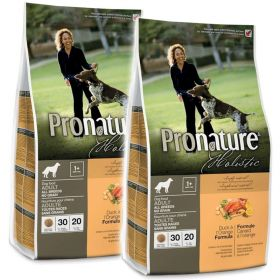 Pronature Holistic Viljaton ankka & appelsiini 2 x 13