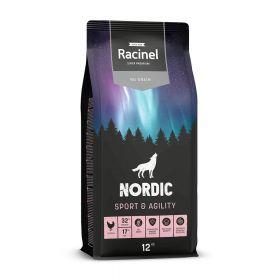 Racinel Nordic Sport & Agility Chicken, Kana 12 kg