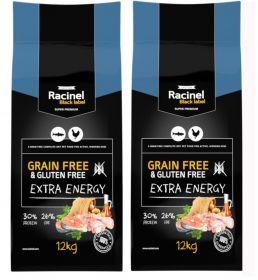 Racinel Black Label  Extra Energy 2 x 12 kg