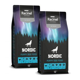 2 x 12 kg Racinel Nordic Puppy Chicken, Kana
