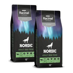 2 x 12 kg Racinel Nordic Adult Lamb, Lammas