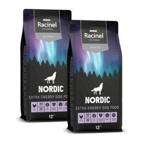 2 x 12 kg Racinel Nordic Extra Energy Chicken, Kana