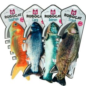 Robocat Motorisoitu kissanlelu, Sätkivä kala