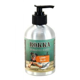 Rokka Lohiöljy koirille ja kissoille - 350 ml