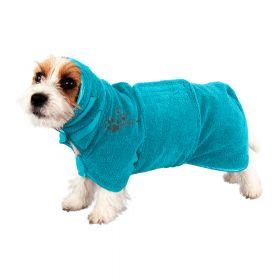 Show Tech Koiran mikrokuitu kylpytakki vyöllä