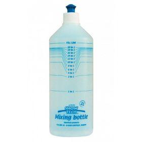 Show Tech Mitta- ja sekoituspullo, 1 litra